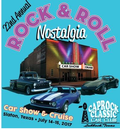 Coming events for Classic motor cars lubbock