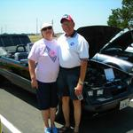 Tommy & Linda Persons - 1986 Convertible.