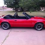 John & Connie Richardson - 1986  GT Convertible